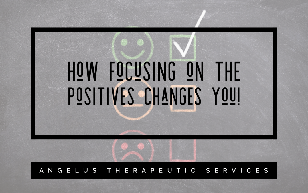 How thinking positively changes you