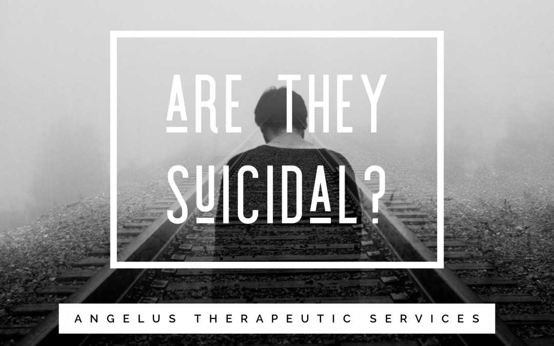 What to do when a loved one is suicidal