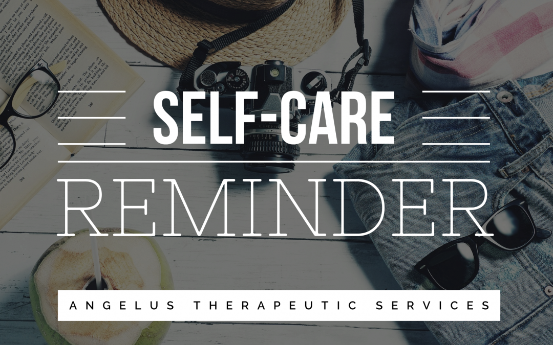 What Self-Care Is and Isn't: A Reminder
