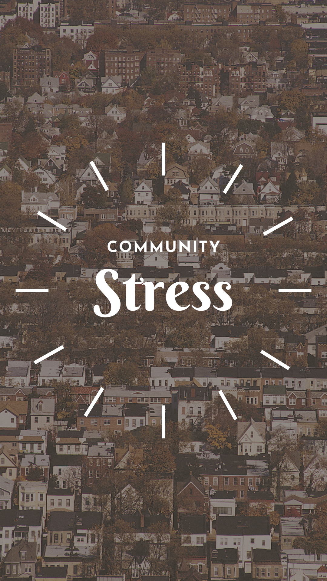what is community stress