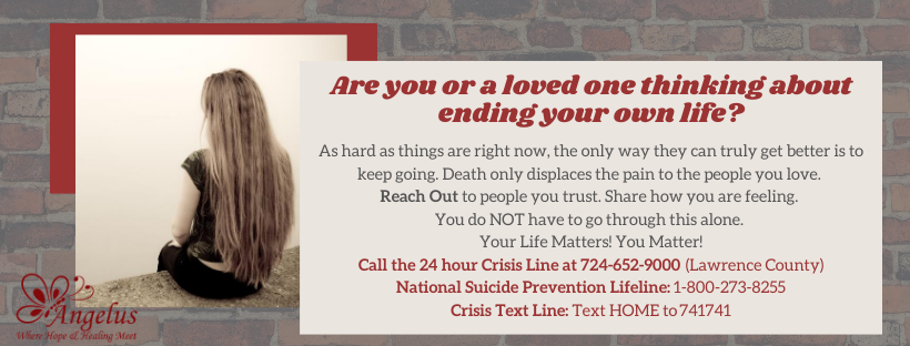 help for suicidal thoughts in New Castle PA