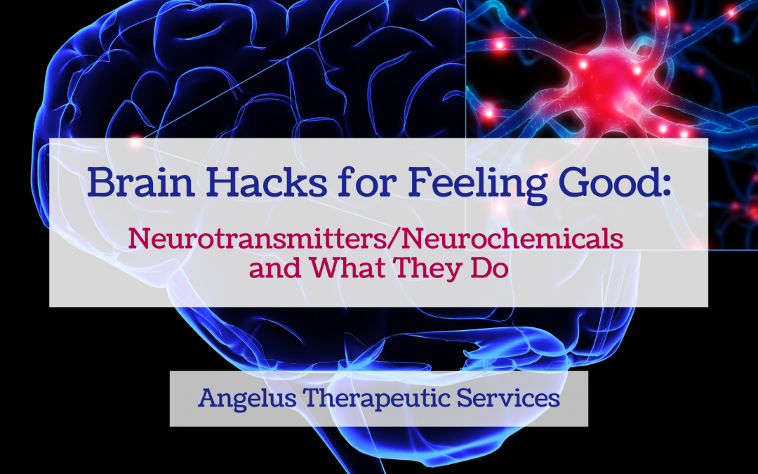How your brain uses chemical signals to help you feel better