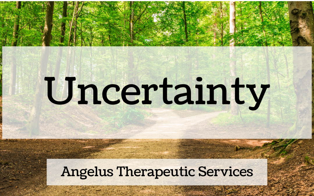 How to Deal with the Discomfort of Uncertainty