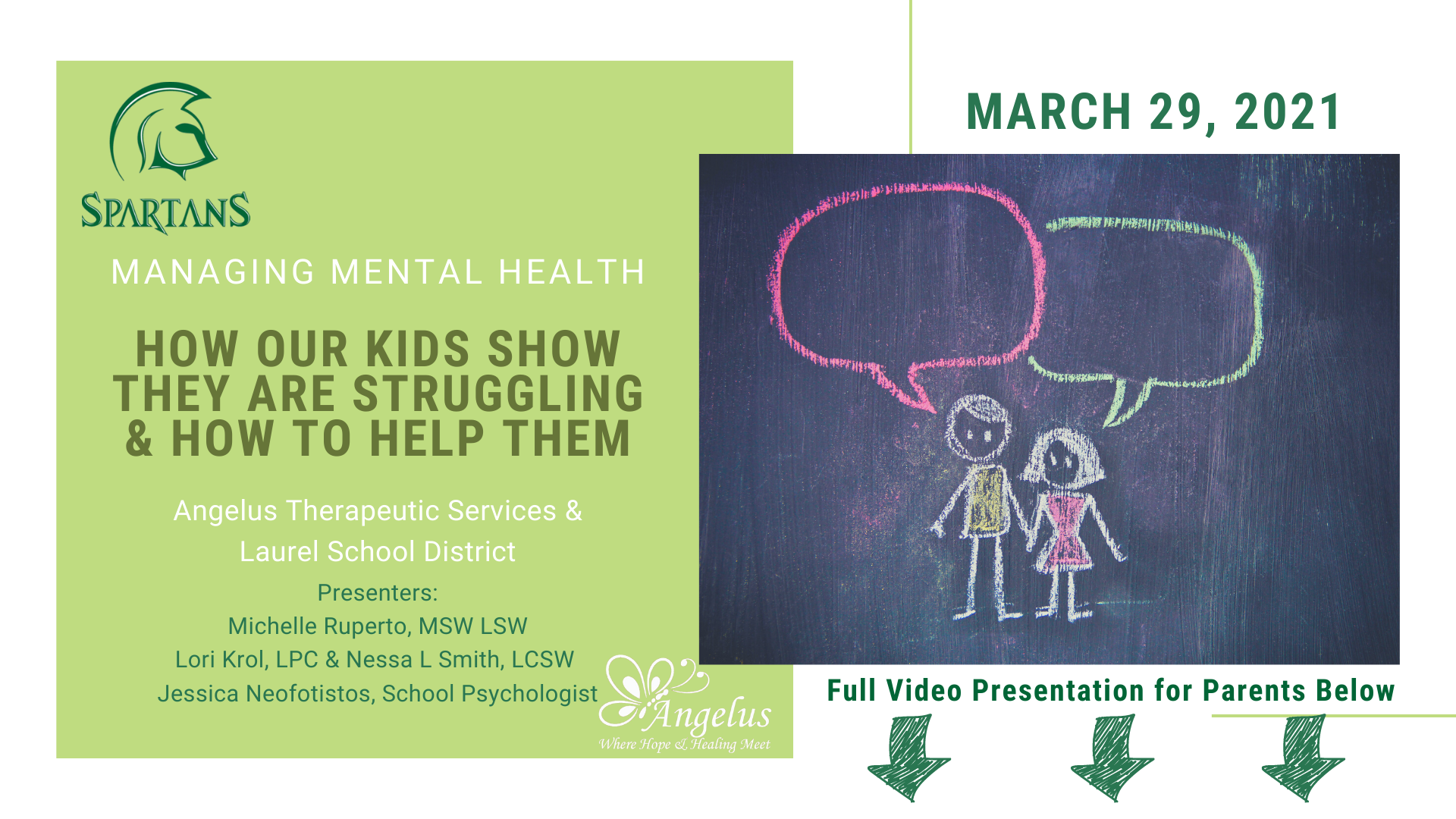managing mental health for kids